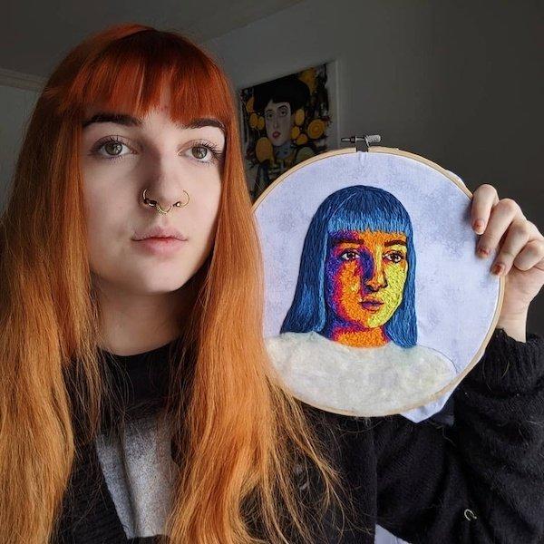 Amazing Embroidery (26 pics)