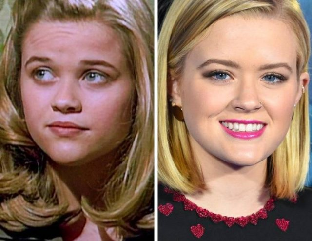 Celebrities And Their Kids At The Same Age (14 pics)