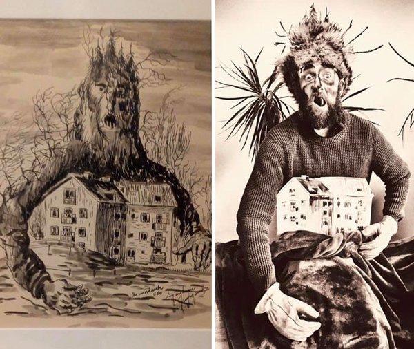 Terrible Paintings Recreation (30 pics)