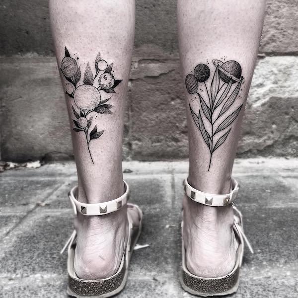 Split Tattoos (26 pics)