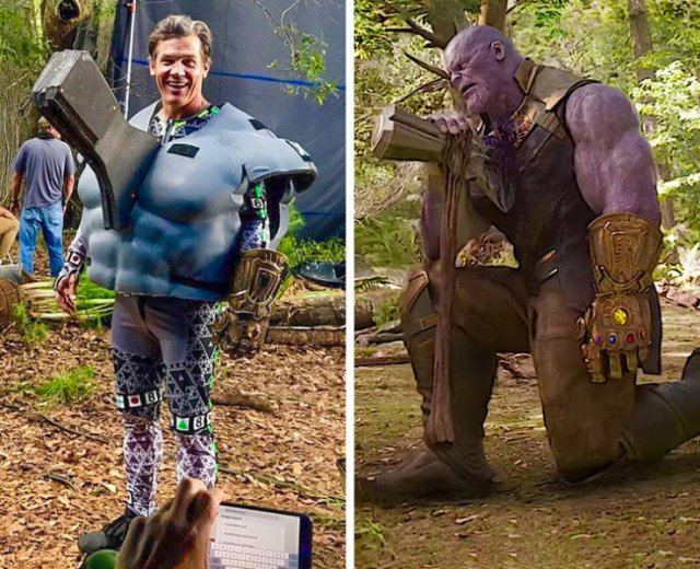 Hollywood Movies: Behind The Scenes (30 pics)