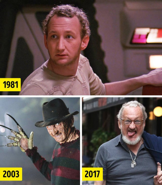 Actors Who Played Movie Villains: Then And Now (10 pics)