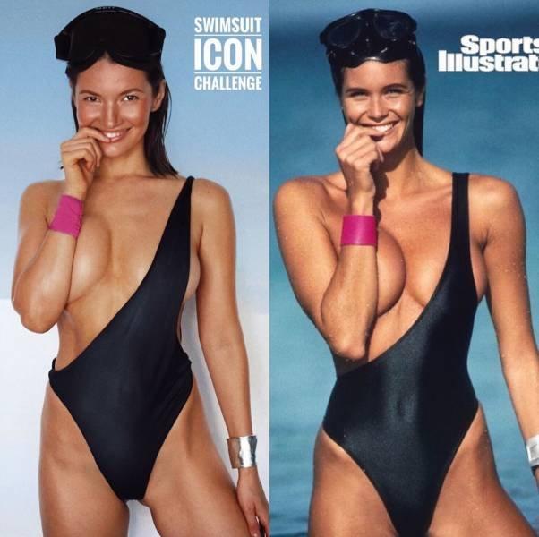 Swimsuit Challenge (9 pics)