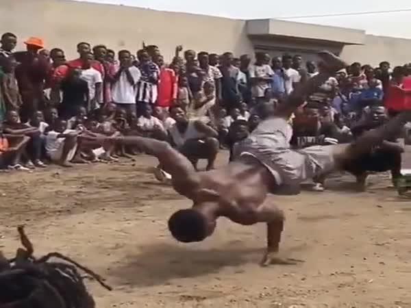 Insane Upper Body Strength