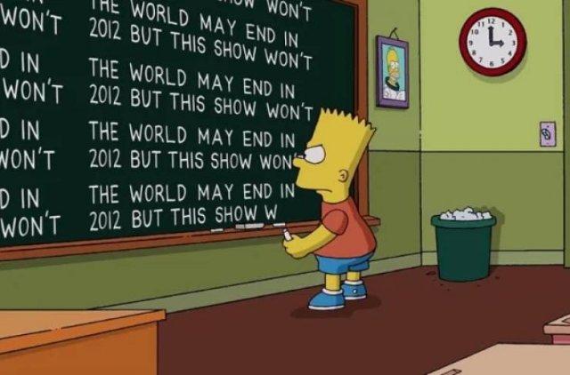 """Simpsons"" Chalkboard (46 pics)"