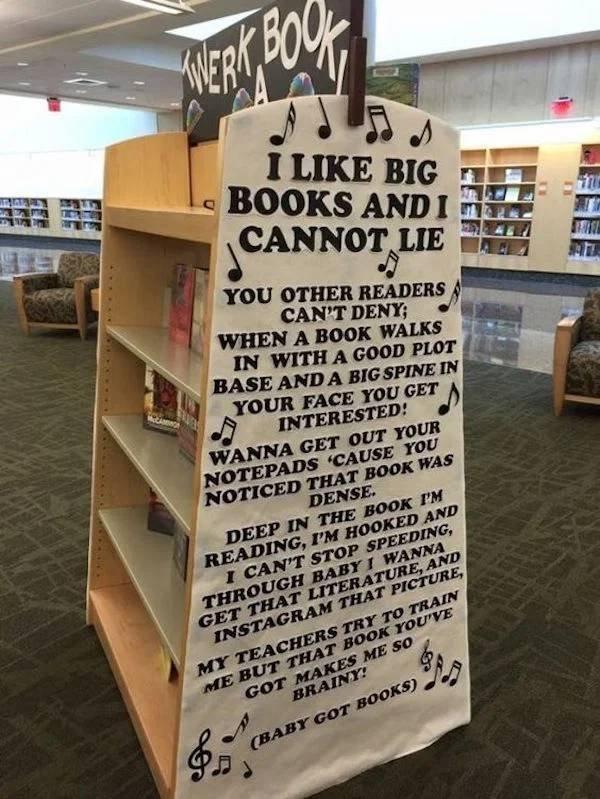 Jokes Of Librarians (35 pics)