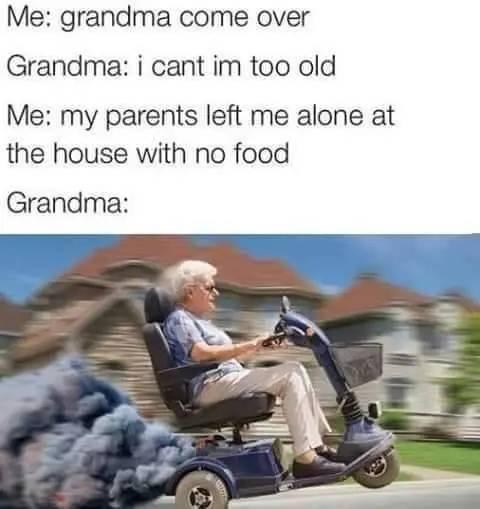 Grandma Memes (23 pics)