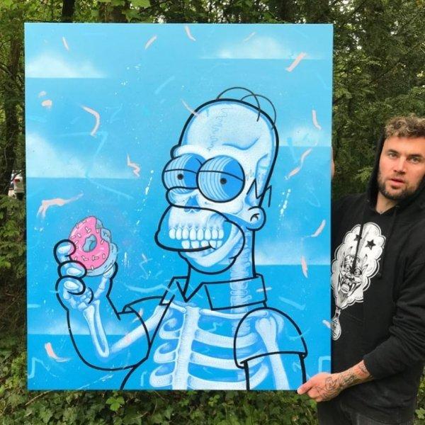 Skeleton Art (24 pics)