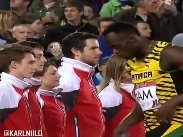 Usain Bolt Being Awesome