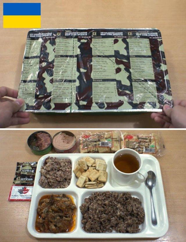 Military Food Rations (14 pics)