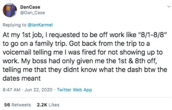 The Dumbest Reasons When People Were Fired (22 pics)
