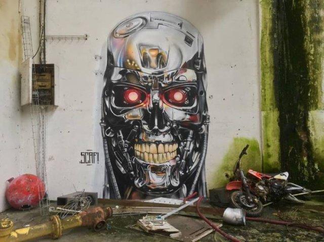3D Street Art By Scaf Oner (51 pics)