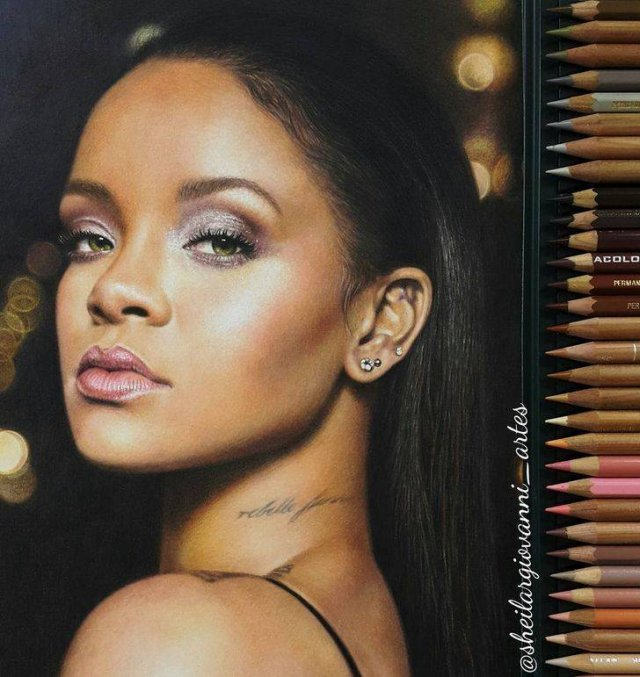 Celebrity Paintings By Sheila Giovanni (20 pics)