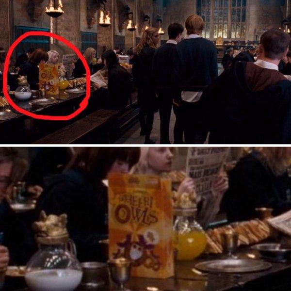 Hidden Details In 'Harry Potter' Movies (19 pics)