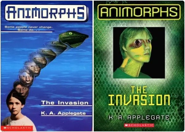 '90s Book Covers Vs Modern Covers (15 pics)