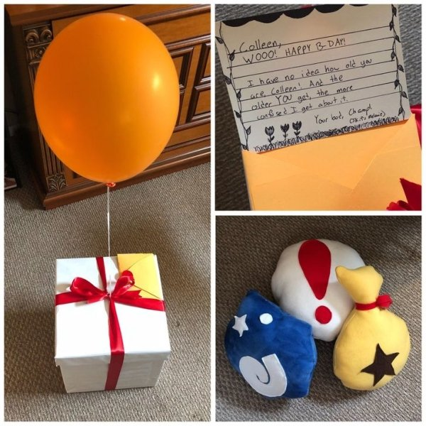 People Share Their Birthday Presents (16 pics)