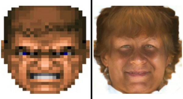 Tool That Turns Pixelated Faces Into Creepy Faces (35 pics)