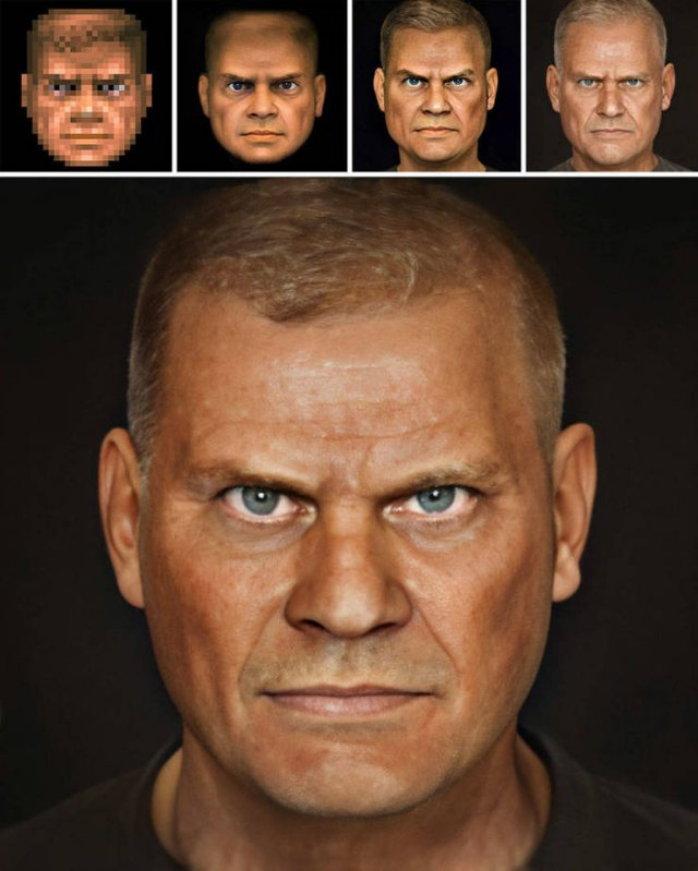 Famous Figures Appearances Creation By Bas Uterwijk (20 pics)