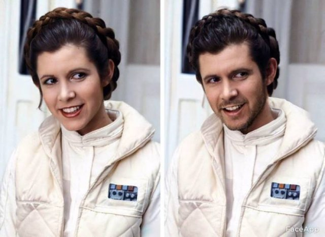 Celebrities And Movie Characters After A Gender Swap Filter (23 pics)