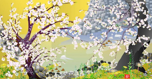 Microsoft Excel Paintings By Tatsuo Horiuchi (18 pics)