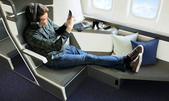 New Design Of Economy Class Airplane Seats (15 pics)