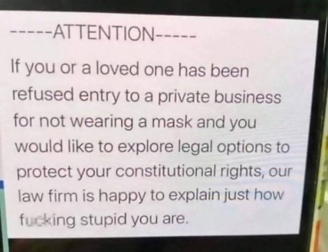 Quarantine Signs From Shops And Restaurants (22 pics)