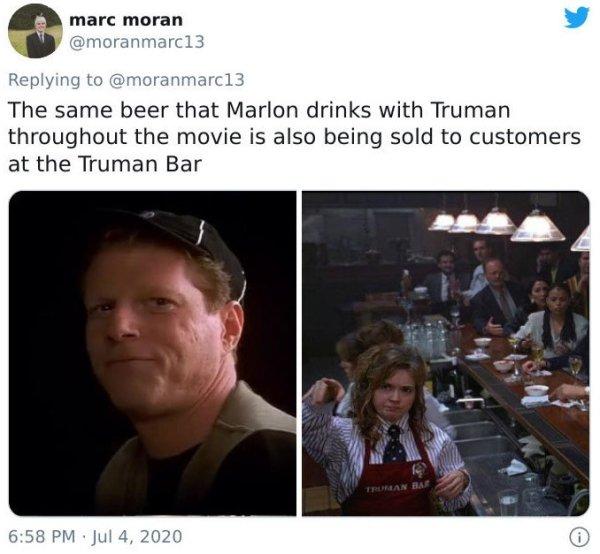 'The Truman Show' Hidden Details (22 pics)
