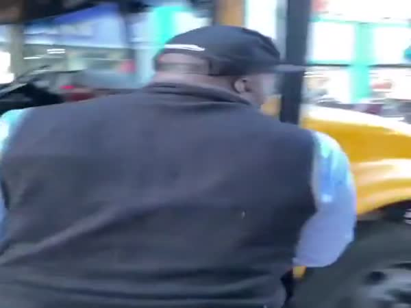 Busdriver Kicks A Kid Off The Bus