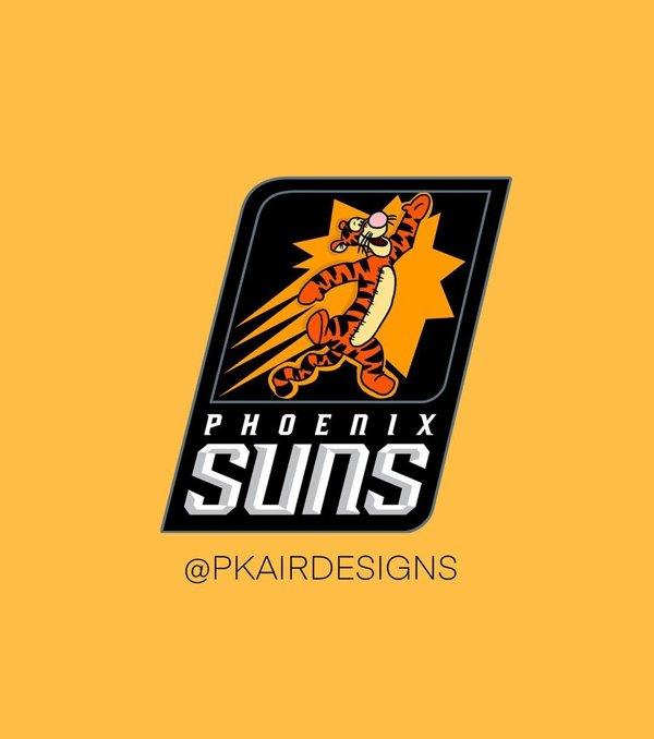NBA Logos Reimagined As Disney Characters (30 pics)