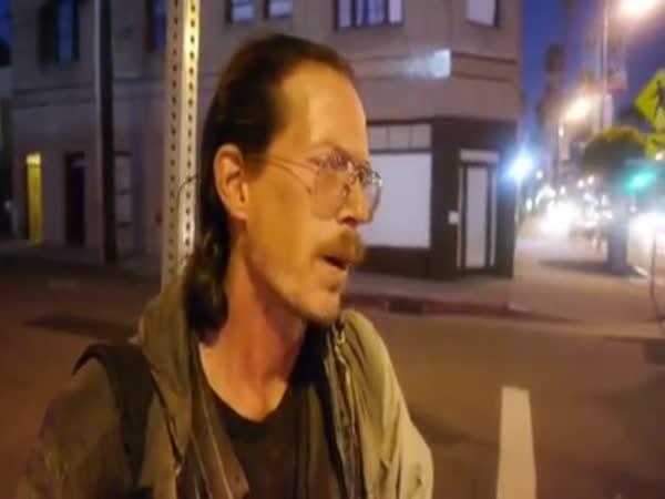 Homeless Man Has Three Wished