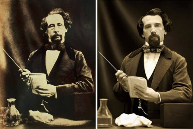 Historical Figures And Their Direct Descendants (15 pics)