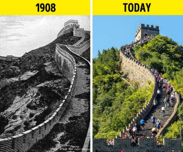 How World Changed Over 100 Years (21 pics)