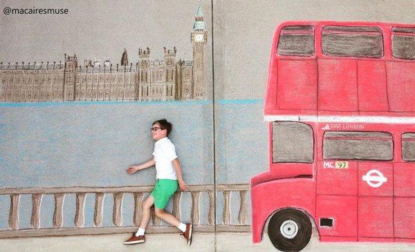 Sidewalk Chalk Art (39 pics)