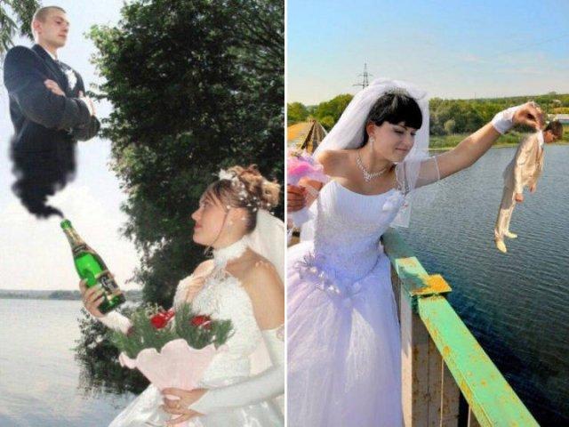 Russian Wedding Photoshop Fails (22 pics)