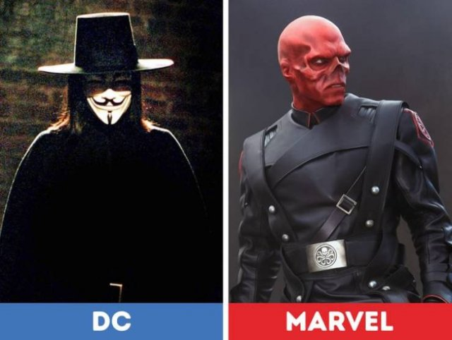 Actors And Actresses Who Starred Both In 'Marvel' And 'DC' Movies (14 pics)
