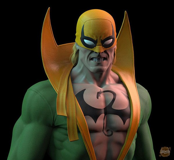 Marvel Characters Reimagined As Heroes From 70's ( pics)