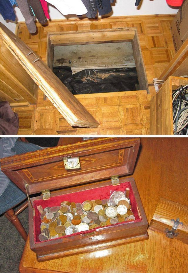 People Share Surprises They Found Inside Properties For Sale (19 pics)