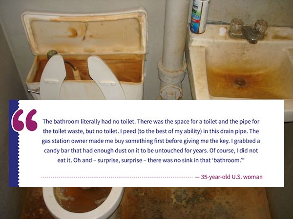Unspoken Public Bathroom Rules (14 pics)