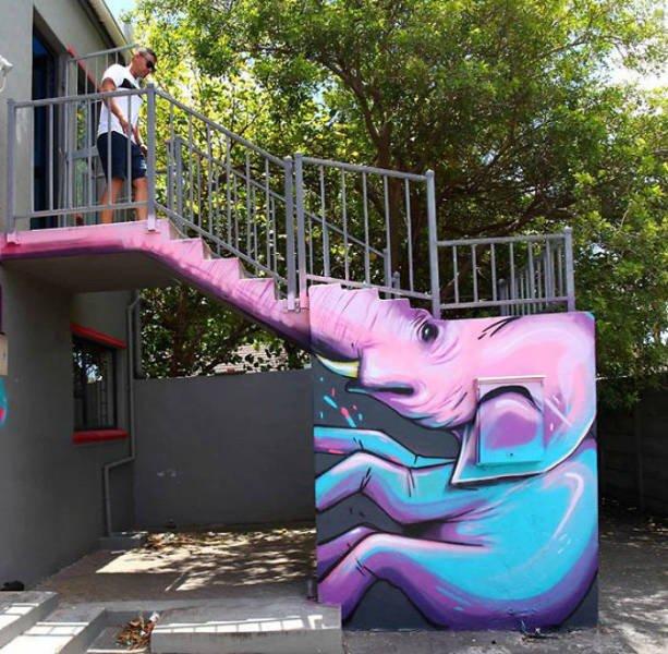 Amazing Graffiti By Falco One (40 pics)