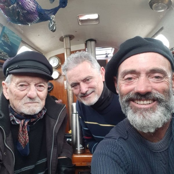 This Man Sailed Across The Ocean To Reach His 90-Year-Old Father During Lockdown (9 pics)