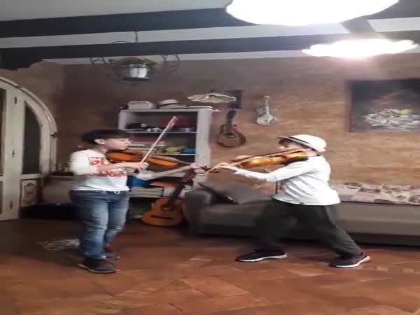Coldplay On Violins