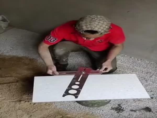 Master Doing His Job