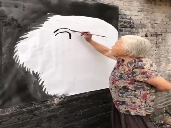 What A Wall Painting
