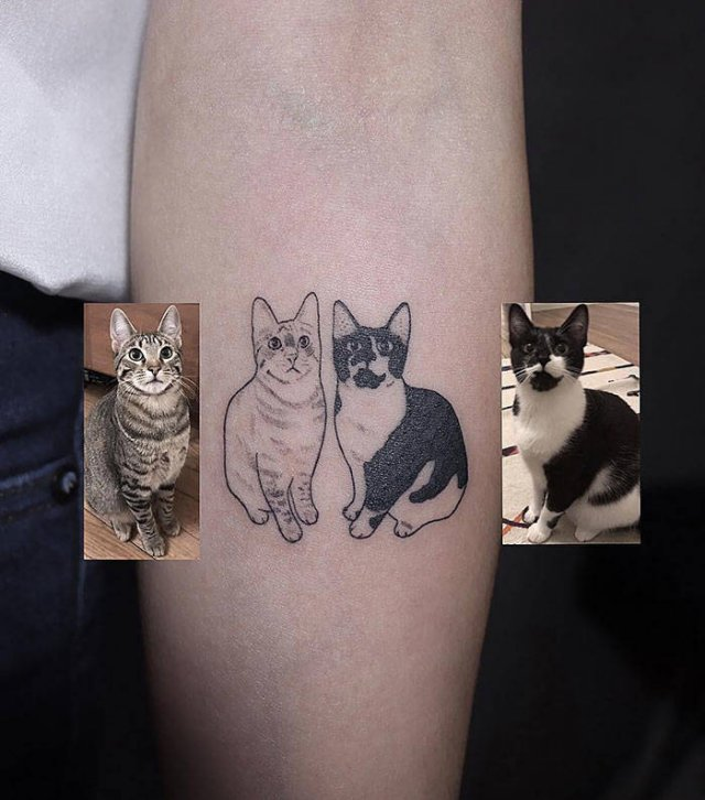 Cat Tattoos (35 pics)