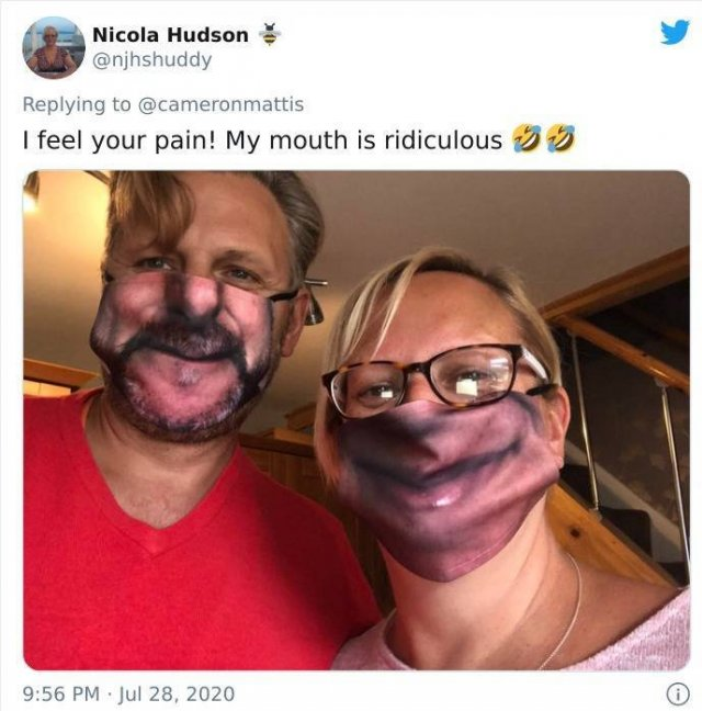 Custom Face Masks Fails (14 pics)