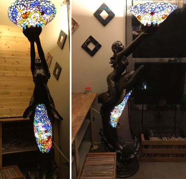 Amazing Lamps From Thrift Stores (25 pics)