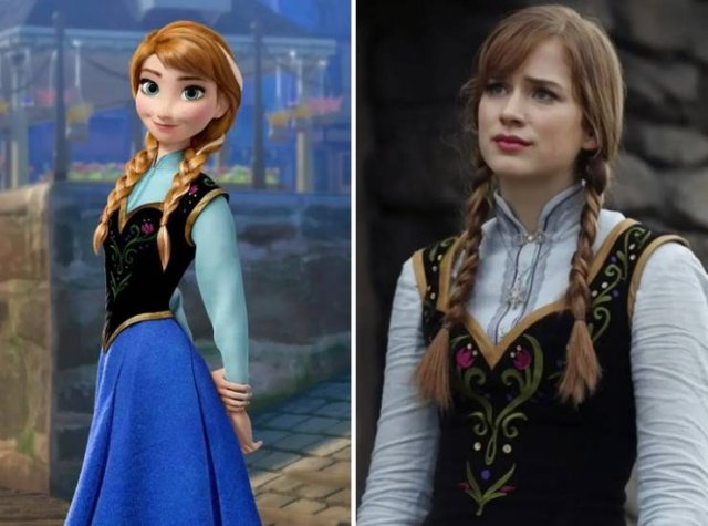 Live-Action Remakes Of Animated Films (21 pics)