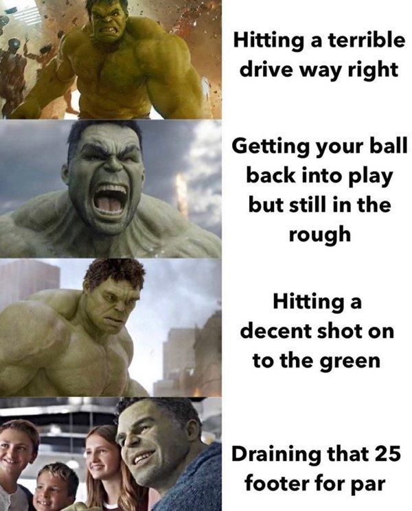 Golf Memes (30 pics)