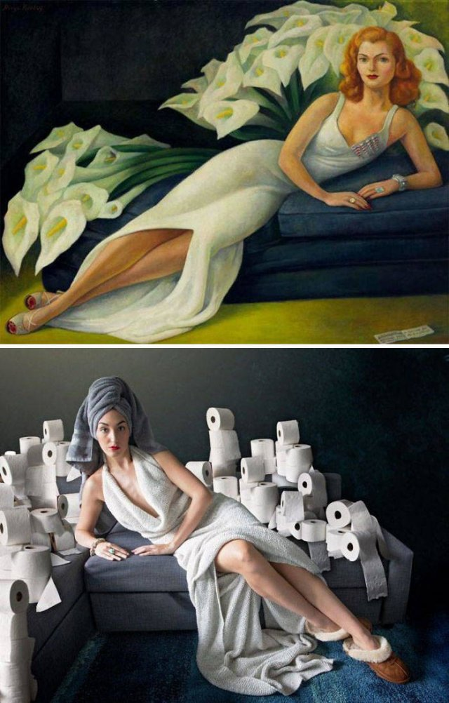 Art Recreation Challenge (26 pics)