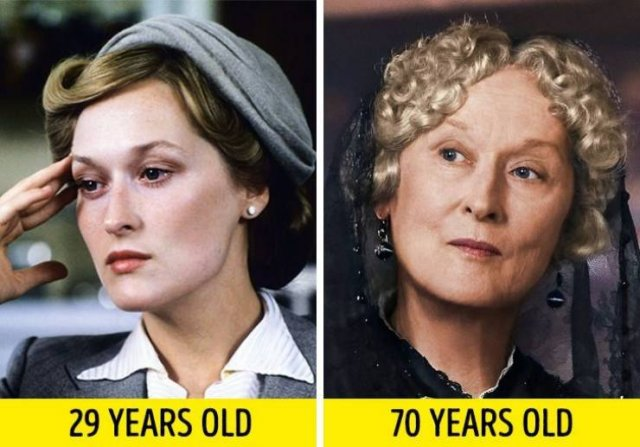 Actors And Actresses: In Their Young Age And Now (17 pics)